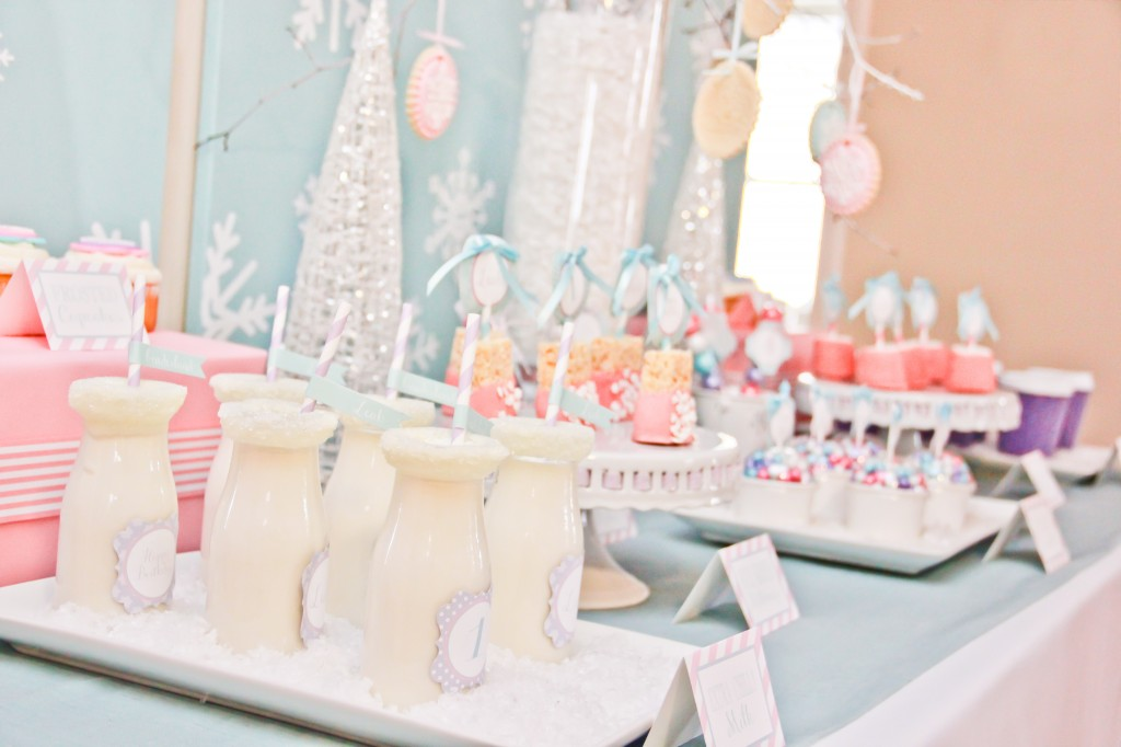Winter Wonderland 1st Birthday Project Nursery