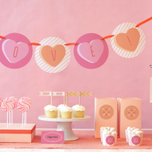 Valentine's Day Party Supplies from Minted