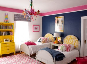 Colorful Shared Girls' Room