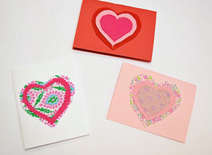Handmade Valentine's Day Cards - Project Nursery