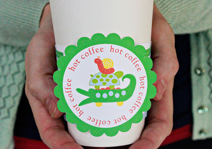 coffee cup wraps II