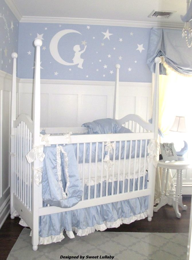 Hudson S Moon And Stars Nursery Project Nursery