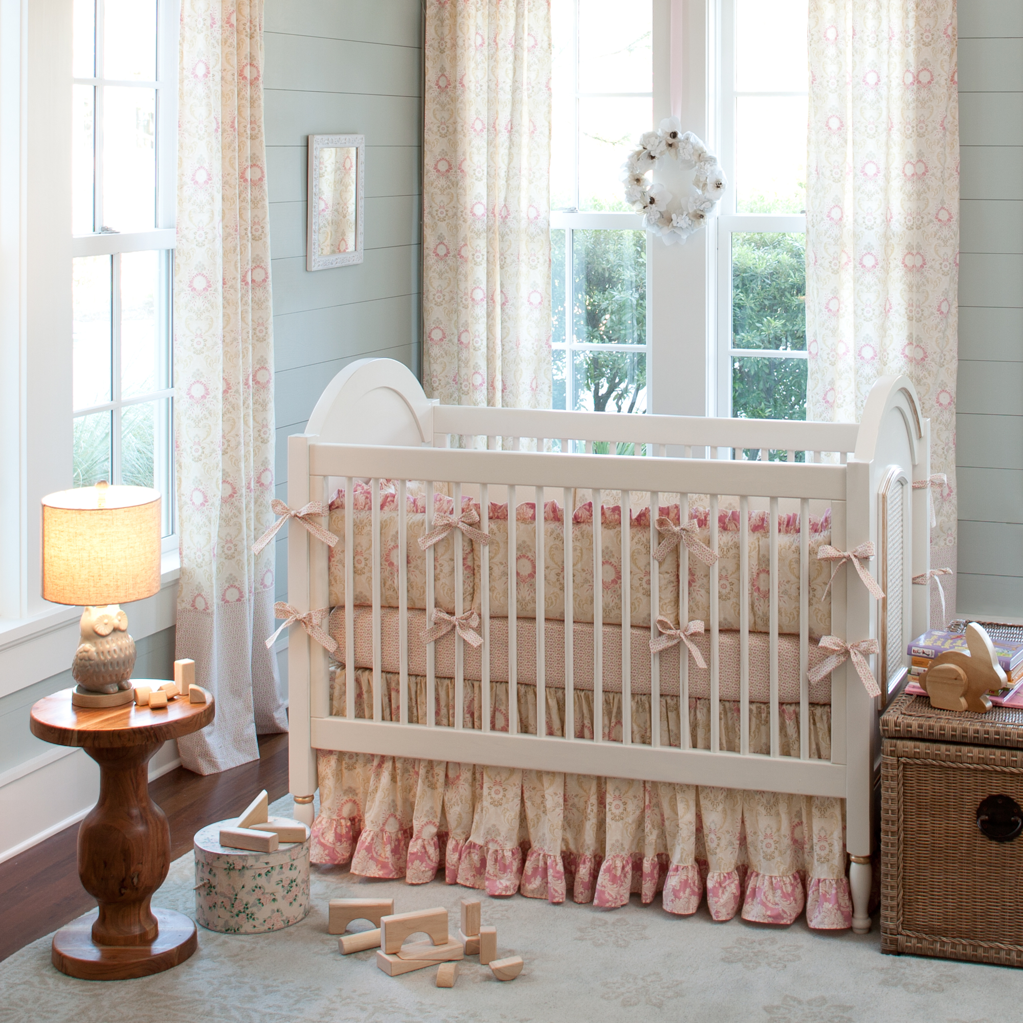 Bedding Decor: Giveaway: Carousel Designs Crib Bedding Set