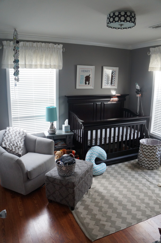 Henry 39 s chevron nursery project nursery for Baby room decoration boy