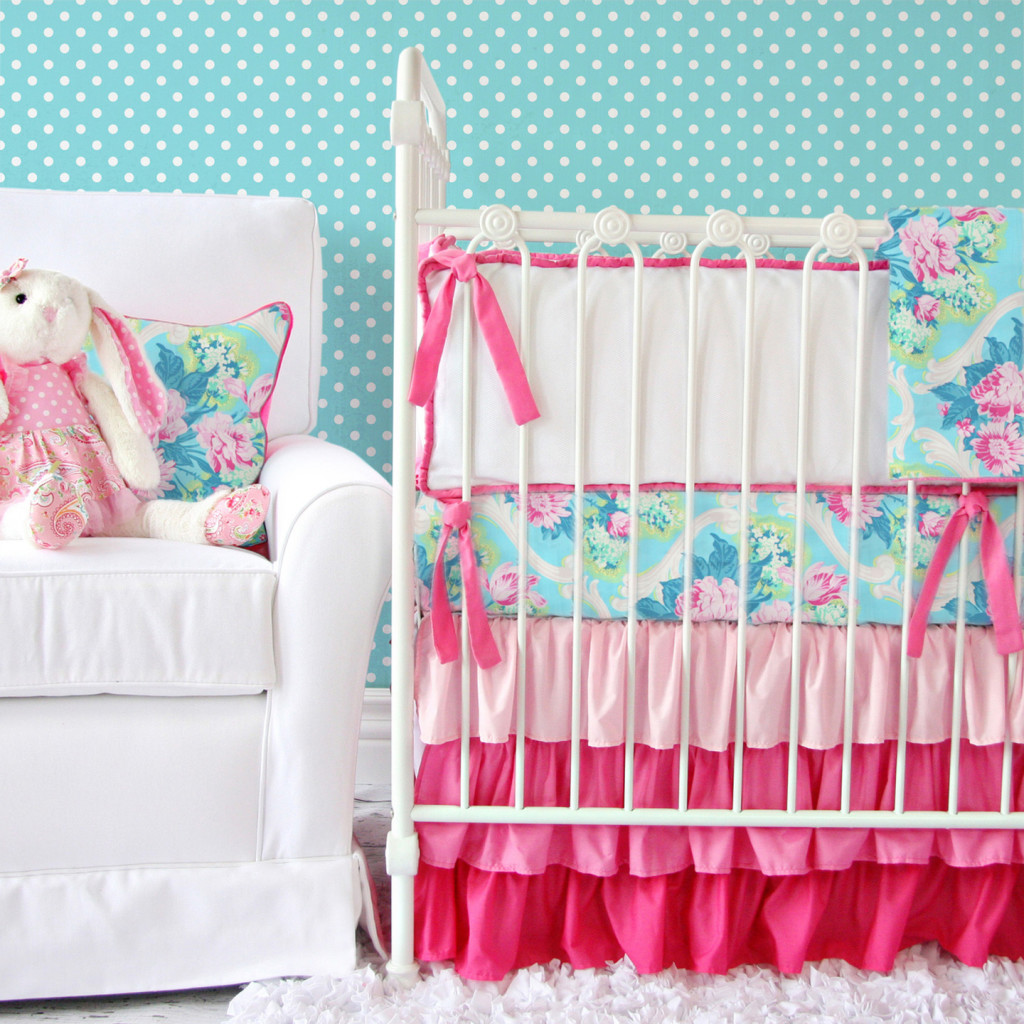 Tiny Bouquet Baby Bedding