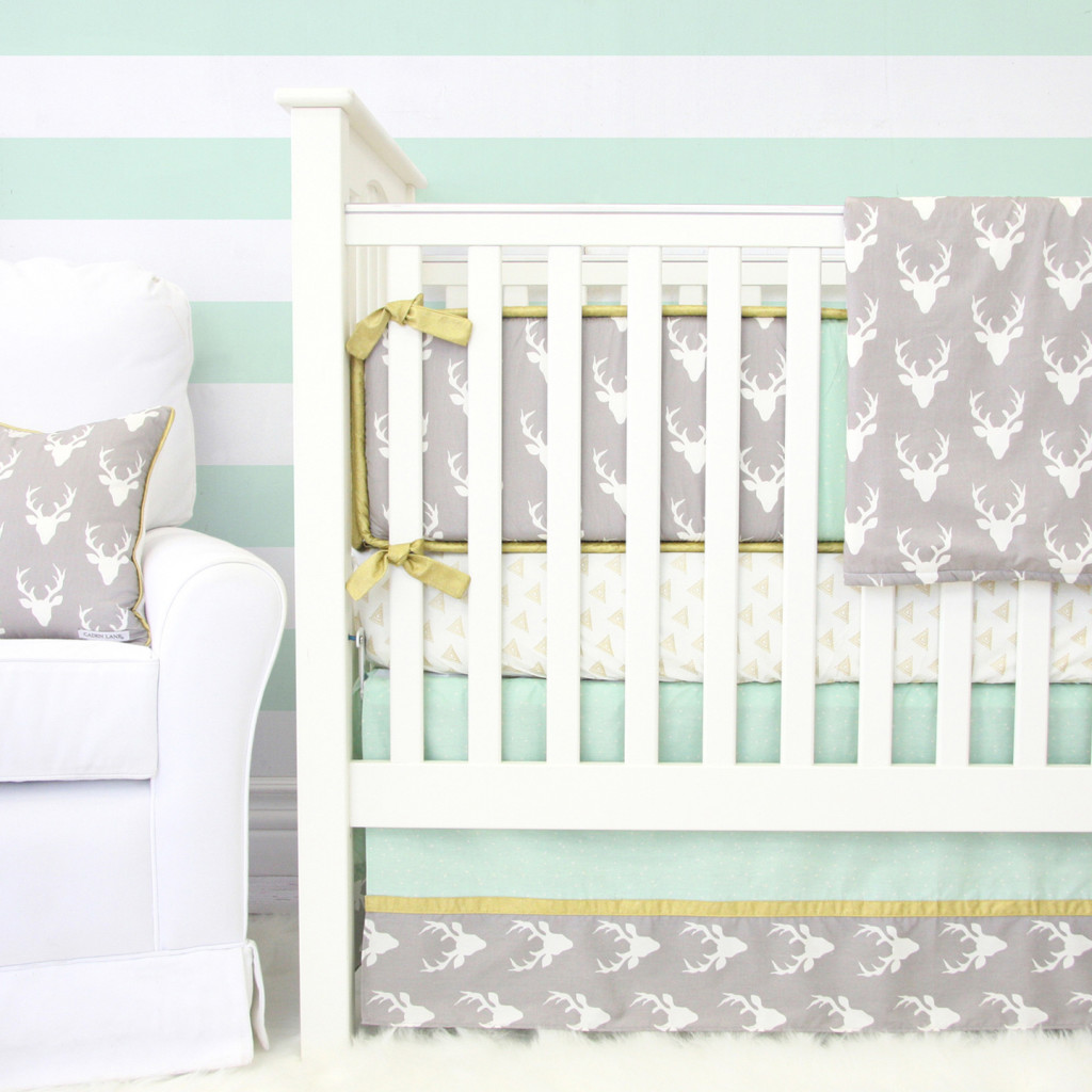 Woodlands Deer Baby Bedding