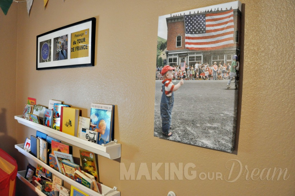 Tour de France Nursery with original photo by Making Our Dream