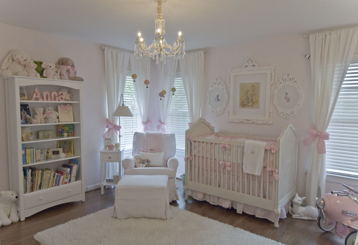 Vintage Inspired Classic Soft Pink Nursery Project Nursery