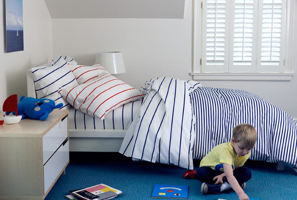 Great Striped Bedding Set
