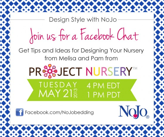 NoJo Facebook Chat Q&A with Melisa and Pam