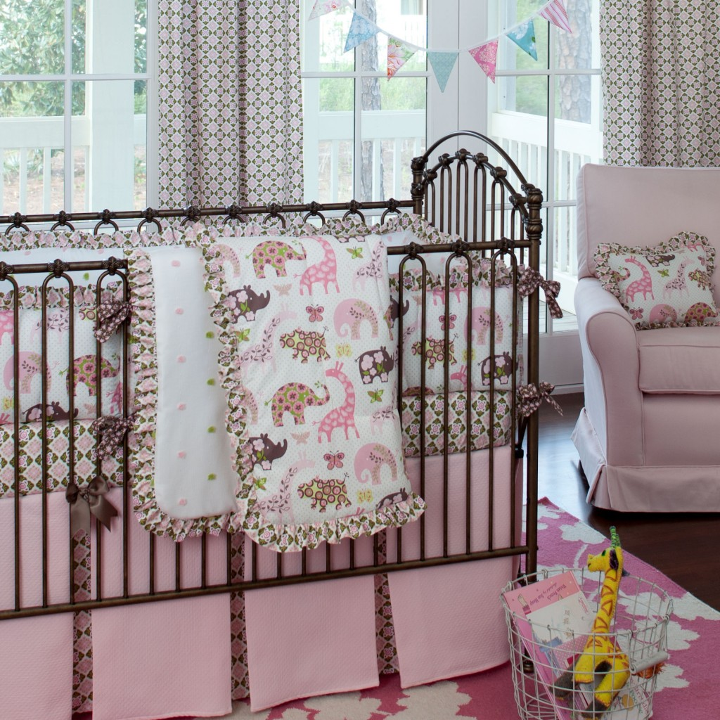 pink-animal-parade-crib-bedding_large