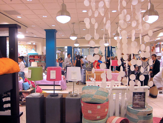 Land of Nod South Coast Plaza Location