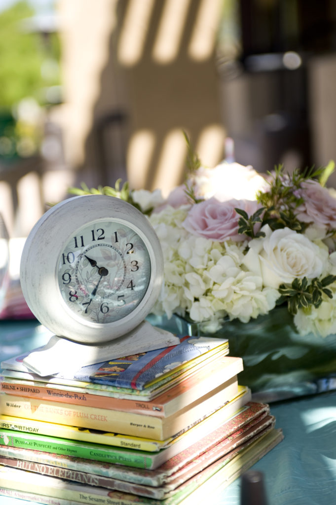 Clock Themed Baby Shower Antique Clock