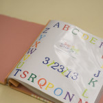 Gender Neutral Baby Shower Scrapbook