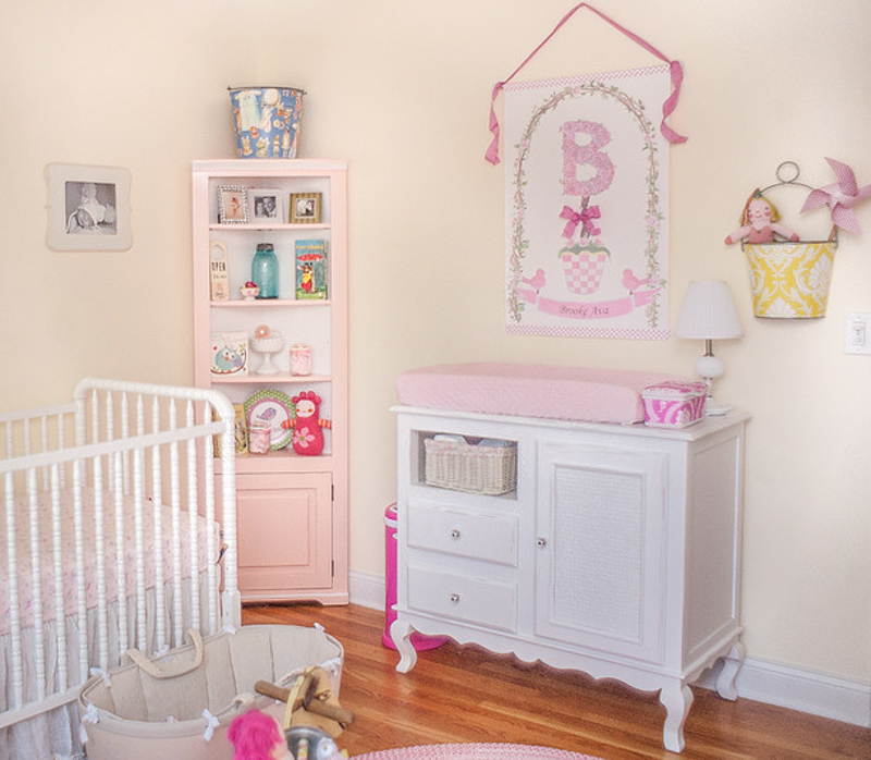 Vintage Baby Girl Nursery Pretty Room