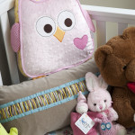 Girl Nest Nursery Pillows