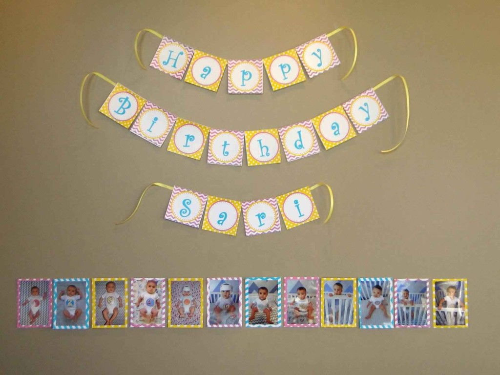 Sunshine and Lemonade Birthday Party Photo Banner
