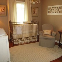 Girl Antique Nursery Crib
