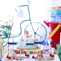 Vintage Beach Baby Shower