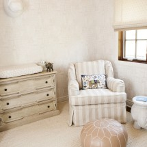 Natural Neutral Nursery Room View