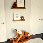 Rustic and Contemporary Nursery Rocking Horse
