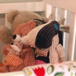 Vintage Modern Girl Nursery Stuffed Animals
