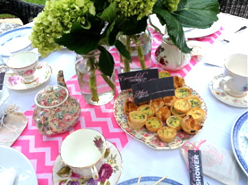 Afternoon Tea Party Food Display