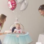 Make a Wish 1st Birthday Party Tulle
