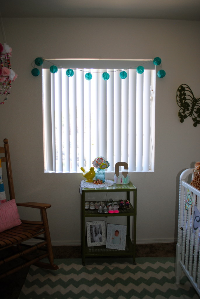 Girl Eclectic Nursery Window