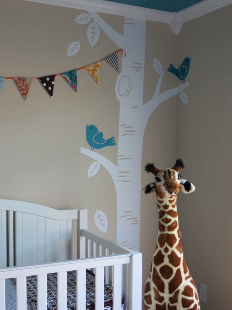 Turquoise, Teal Animal Nursery