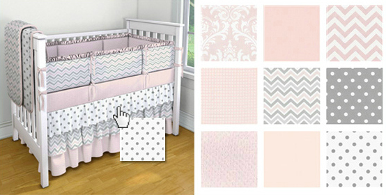 Custom Crib Bedding Design Tool - Project Nursery