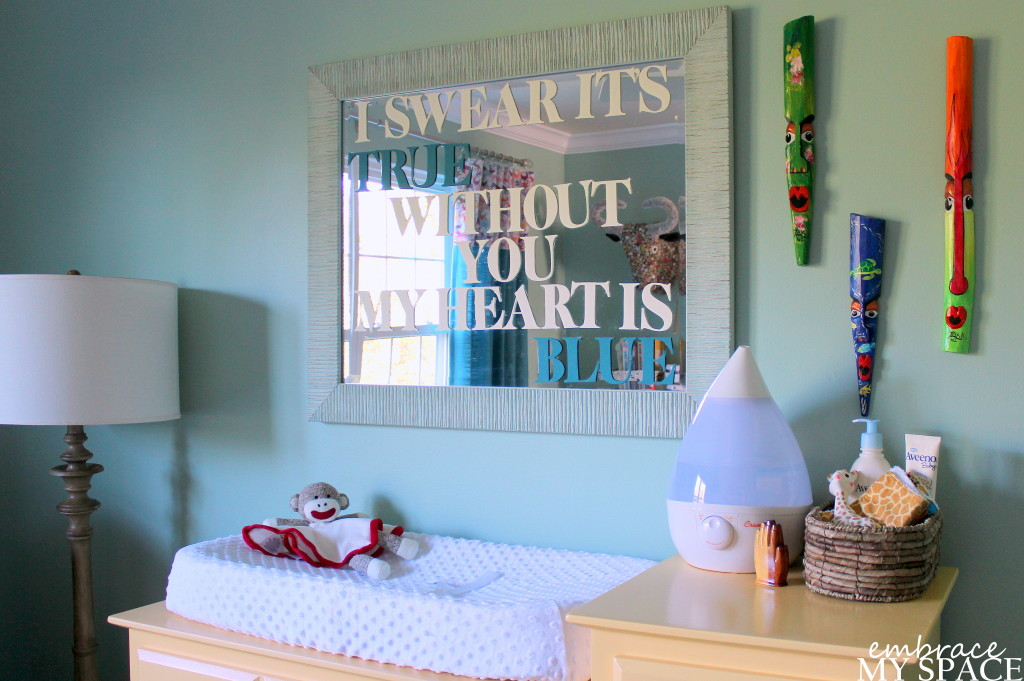 DIY Typography Mirror