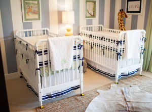 Twins Striped Nursery