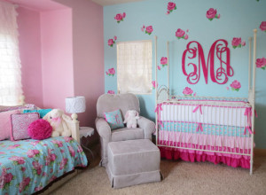Pink and Blue Rose Nursery - Project Nursery