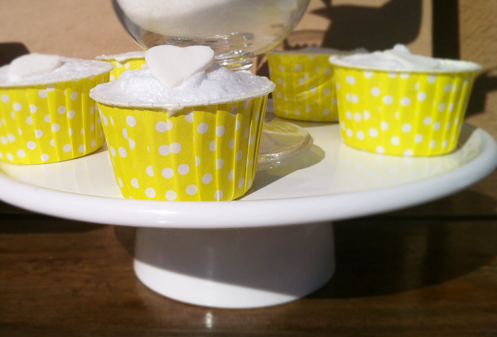 Neon Yellow Baby Shower Cupcake Wrapper