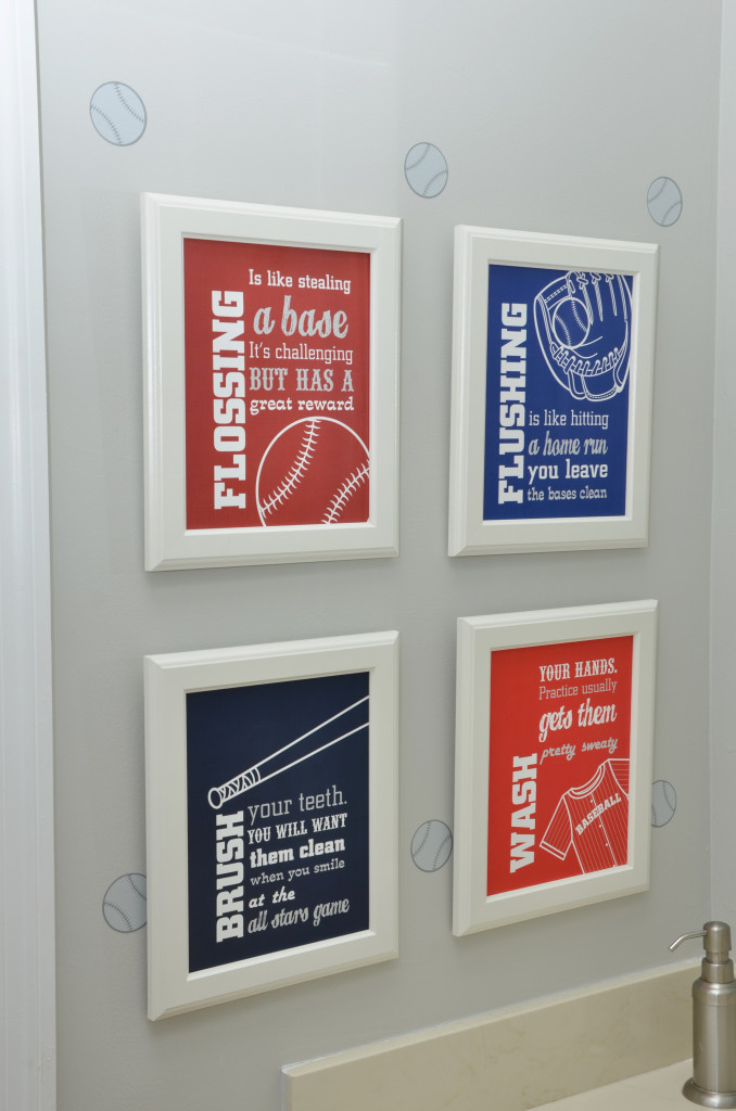 Sports Themed Bathroom Decor Baseball Themed Bedroom Decor Project Nursery