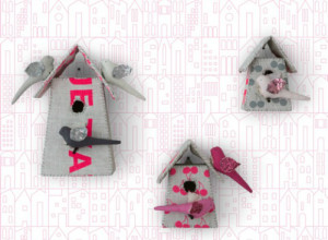 Birdhouse Wallpaper by SISSY + MARLEY for Jill Malek