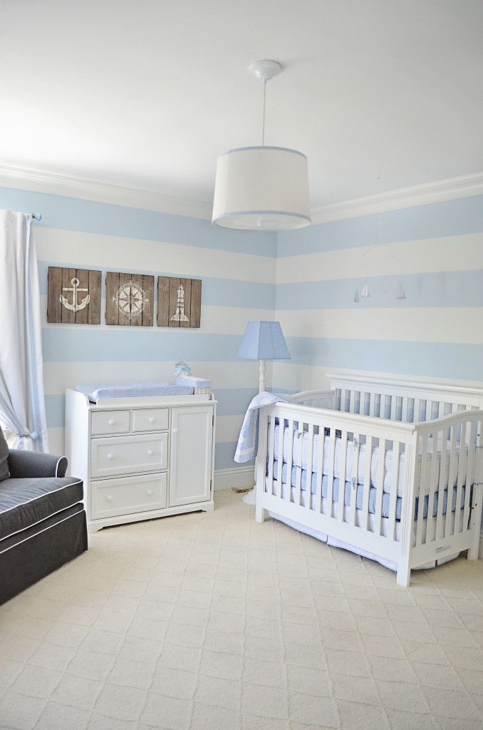Baby Room Accessories: Maverick's Nautical Nursery