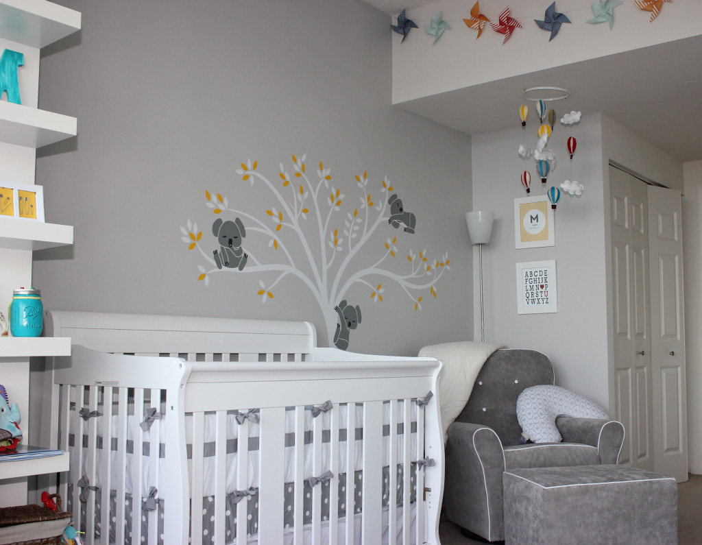 Baby M Modern Gray Nursery Project Nursery