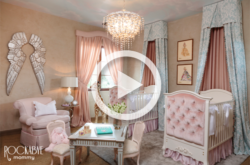 Luxurious Pink Princess Nursery for Twins - Project Nursery