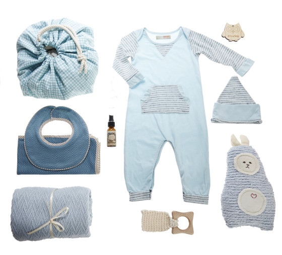 Oliver & Adelaide Perfect Baby Gift Package Boy