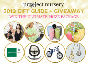 Holiday Gift Guide Giveaway - Project Nursery