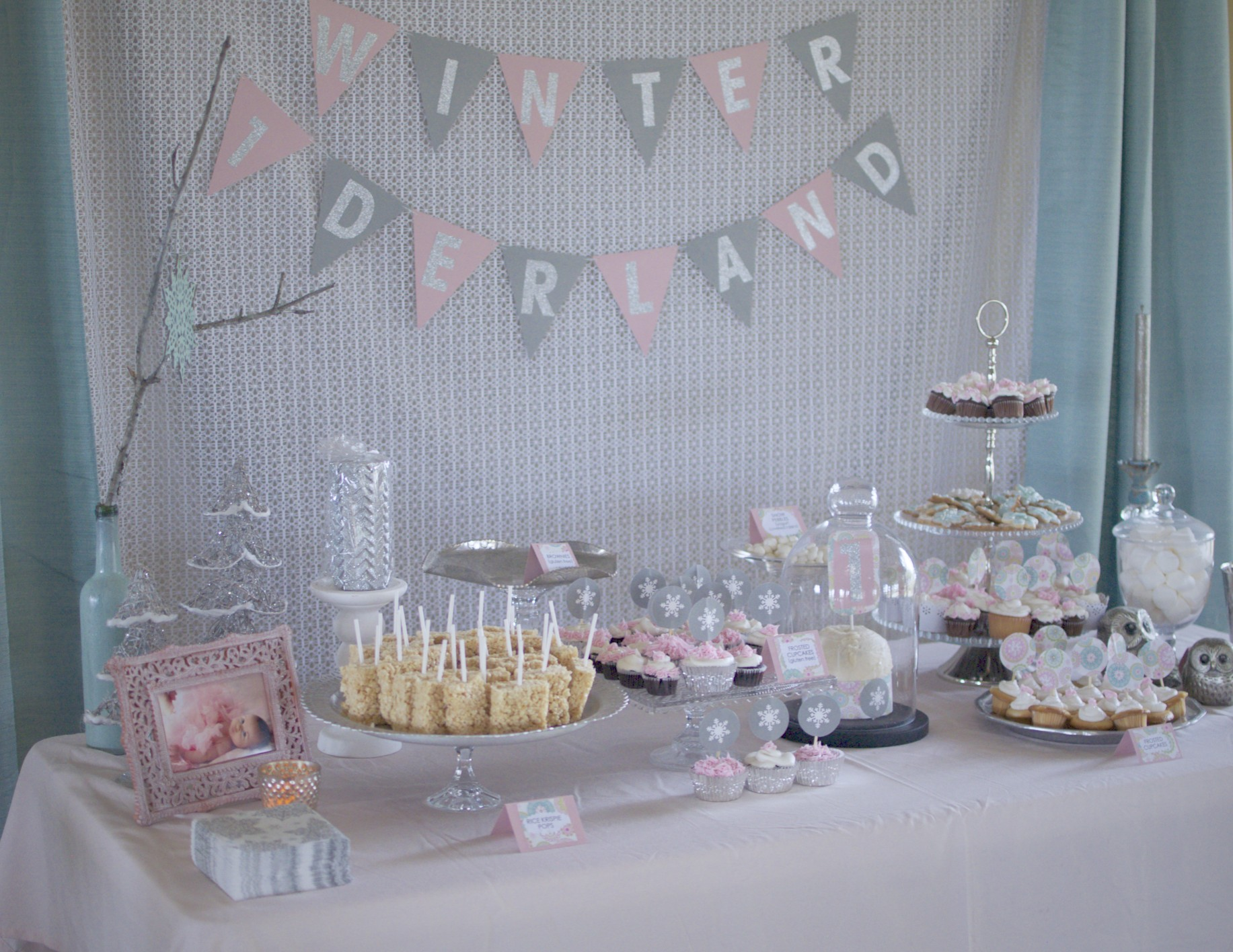 Leighton S 1st Birthday Winter One Derland Project Nursery