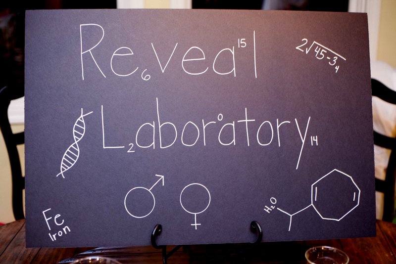 Science Gender Reveal