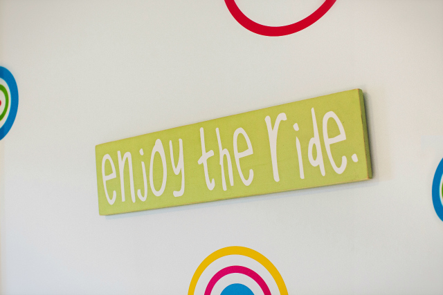 Enjoy the Ride Nursery Art