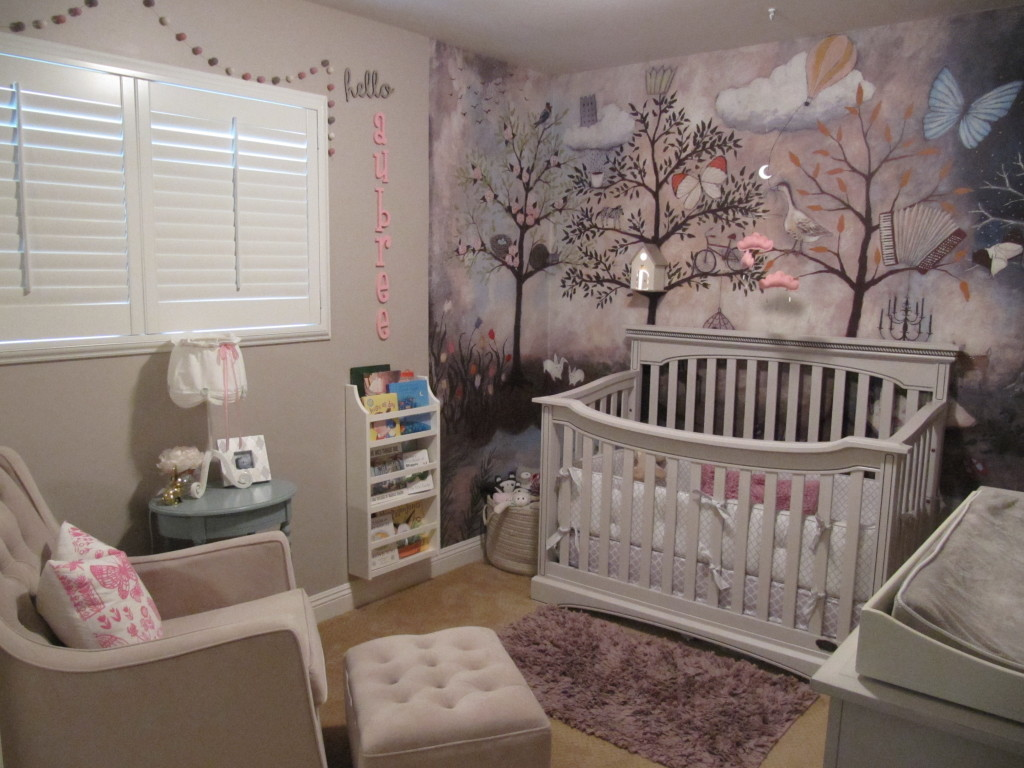 Enchanted Forest Baby Room