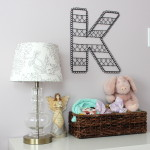 "Wire Wall Letter ""K"""