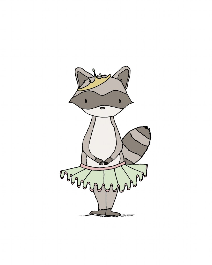 Raccoon Princess
