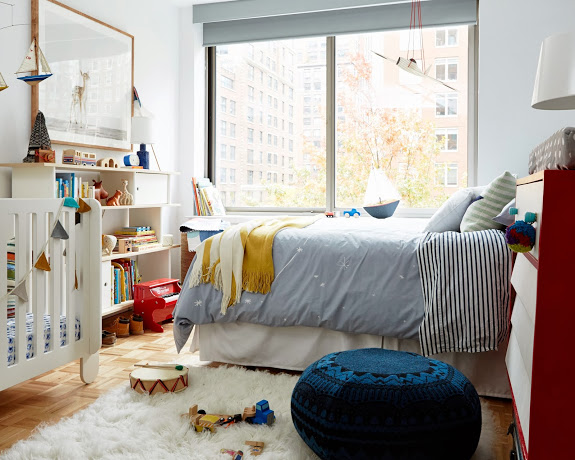 Toddler And Baby Shared Boys Room