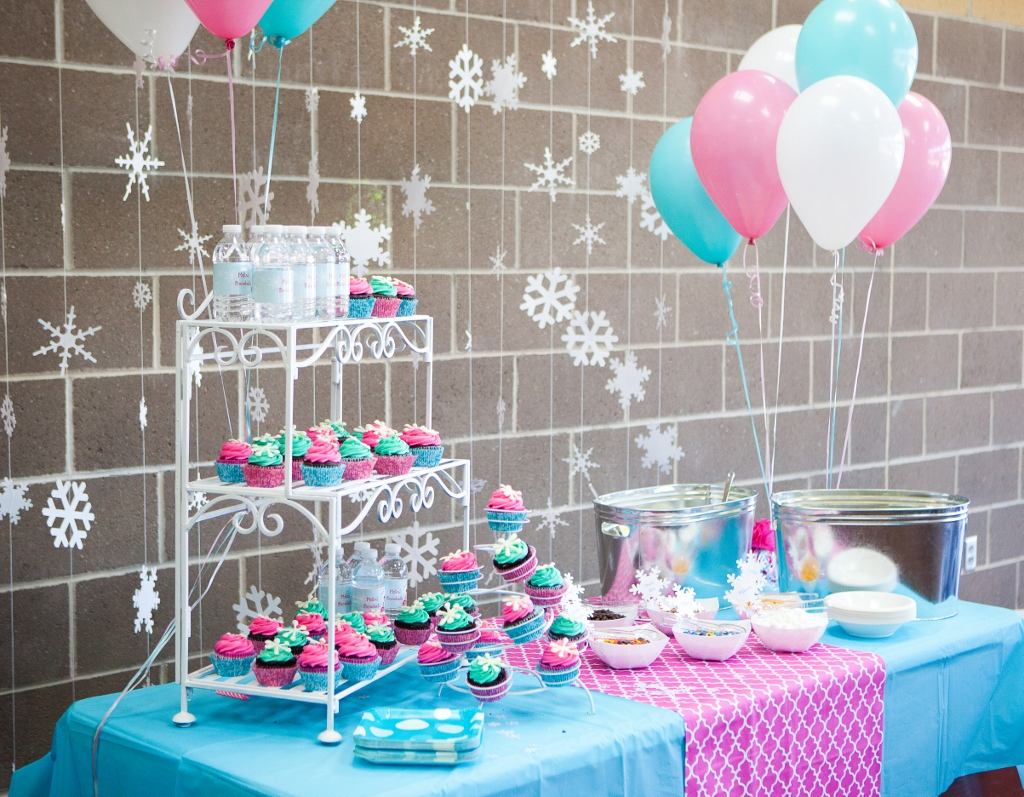 Pink and Turquoise Birthday Party